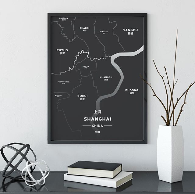 One of our best sellers for a reason - The Charcoal Shanghai Print - - - - #shanghai #shanghaimap #ffc map # Jinganmap #tonikprints #shanghaidesign #shanghaigift #mapprint #graphicdesign #shanghaidecoration #homedecor #designchina #graphicdesign #formerfrenchconcession #jingan #shanghaiapartment