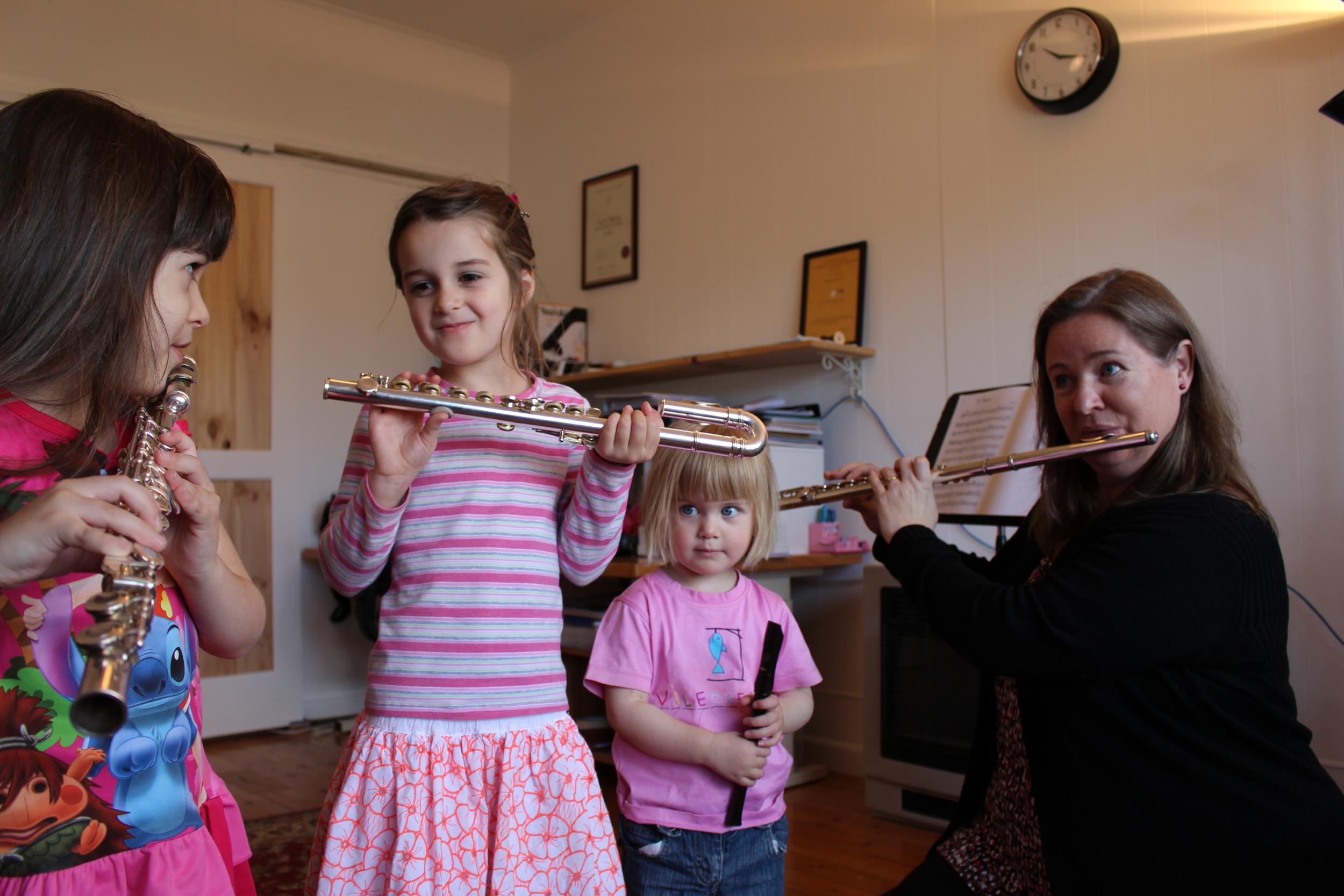 Flutes Out West - Lessons