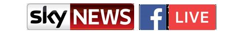 Sky News Facebook Live Streaming