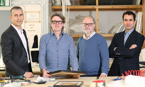 Tagsmart Certify |  artdaily Tom Toumazis, Mark Darbyshire, Steve Cooke & Lawrence Merritt