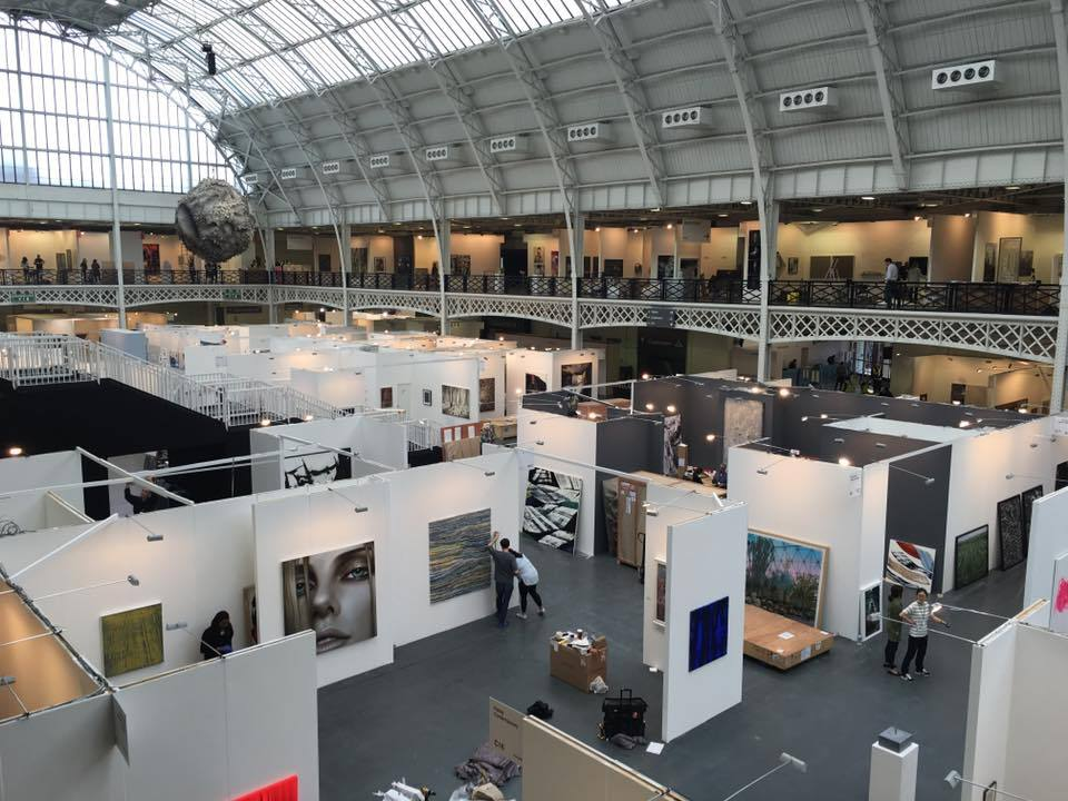 We're getting ready for Art16 London! Come visit us, opens today!
