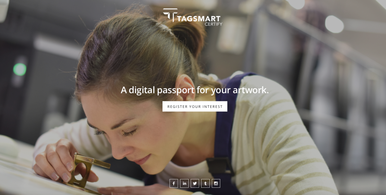 Coming soon! Tagsmart Certify… Register your interest now!  www.tagsmart.com