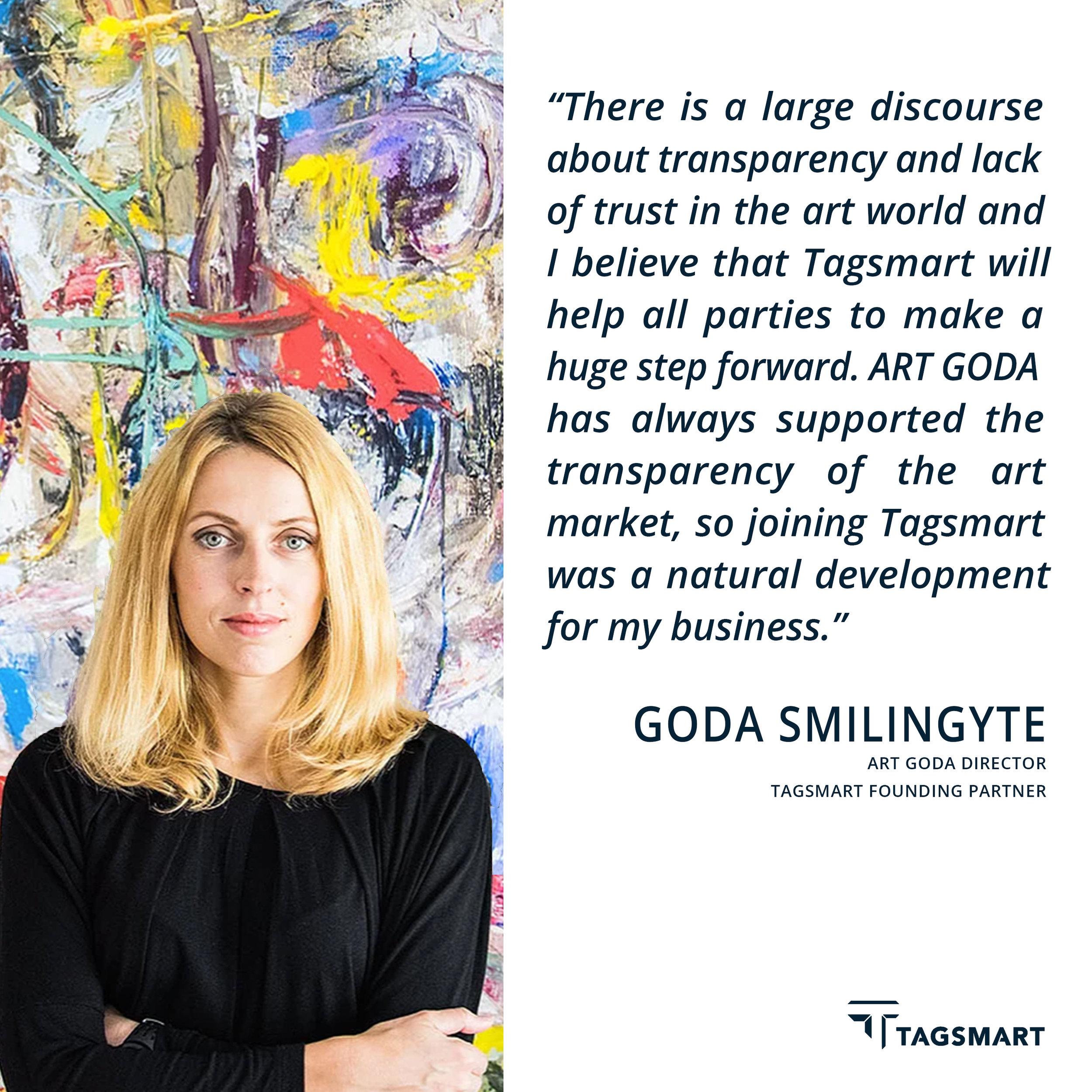 Art Goda Tagsmart Art Certification