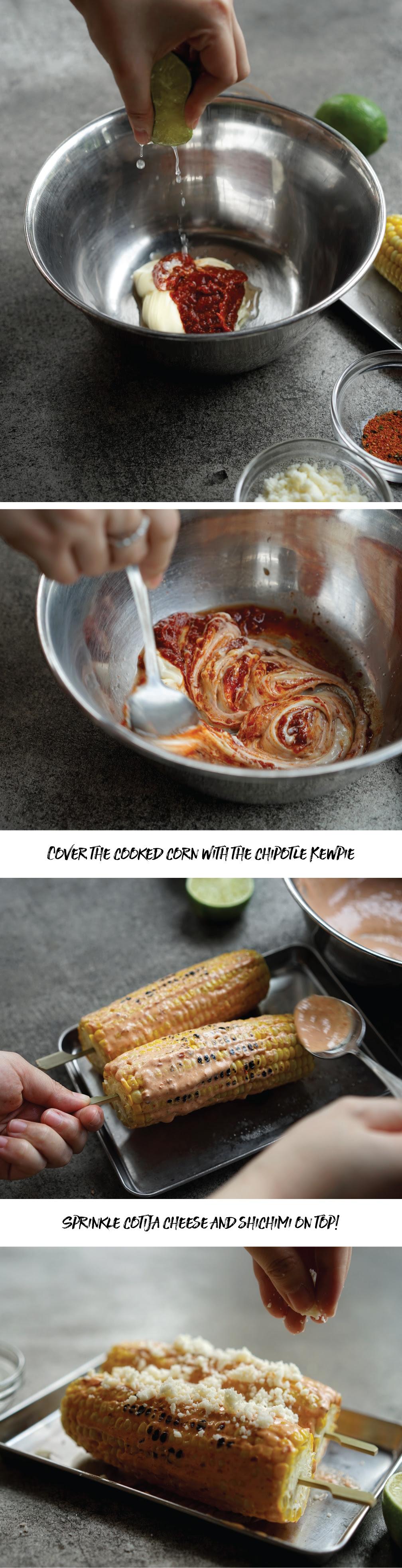 CHINO HK Mexican Corn Recipe