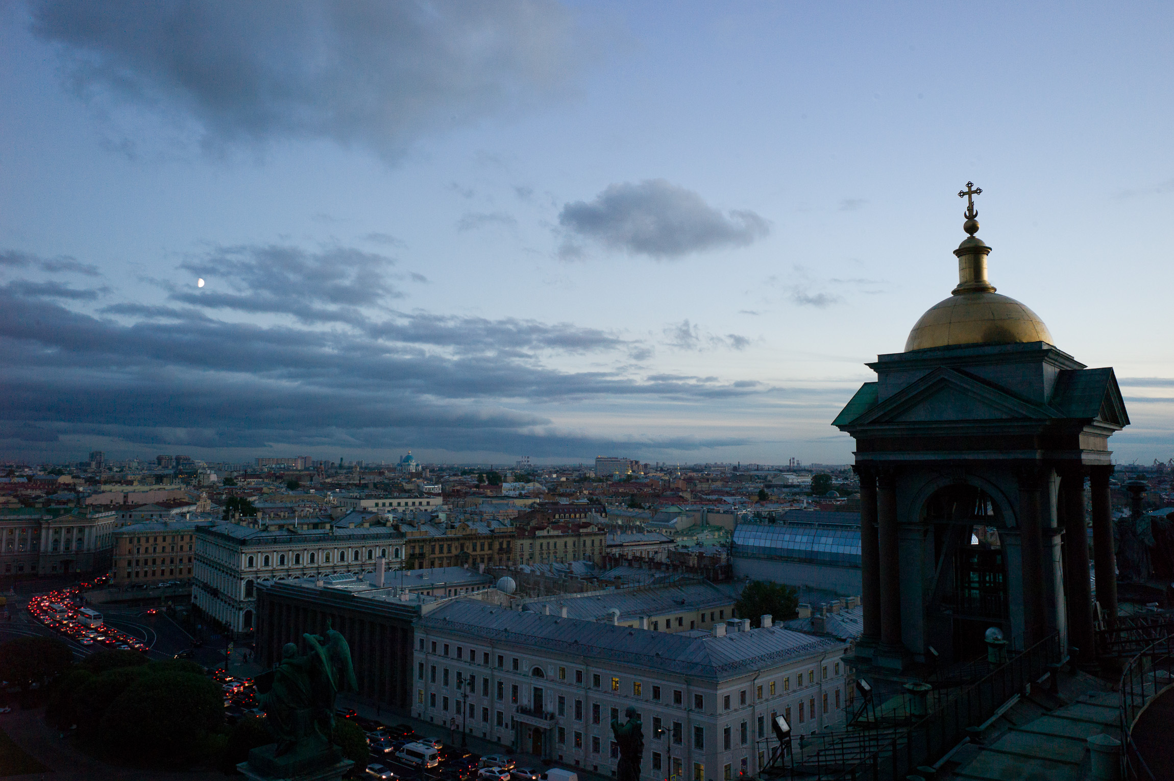 Top of the City, St. Isaac Saint Petersburg, Russia
