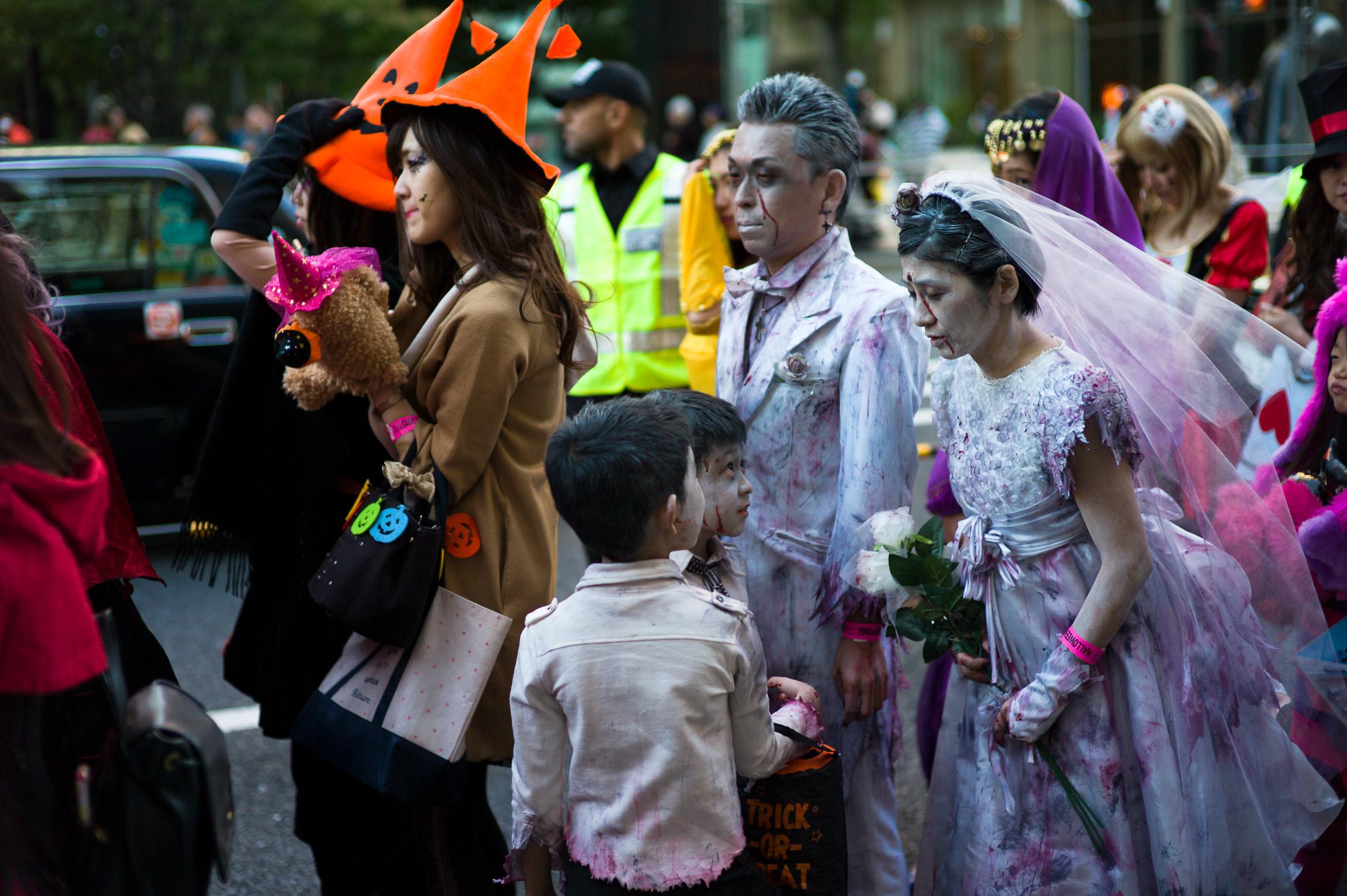 Roppongi Halloween, Tokyo, Japan Leica M-E Carl Zeiss Sonnar 50/1.5 ZM