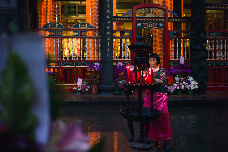 The Keeper of Longshan Temple ( 龍山寺)