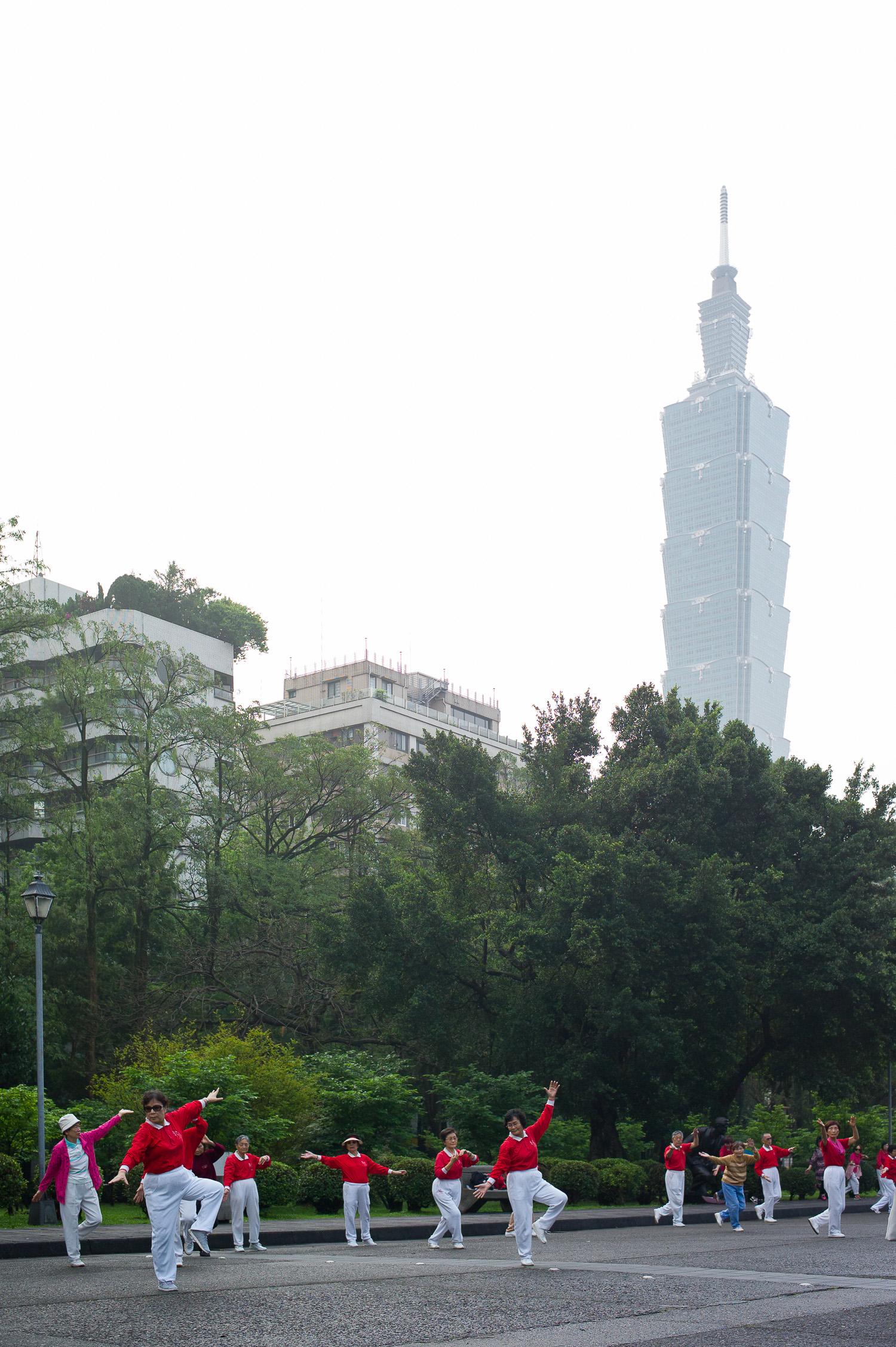 Taichi x Taipei 101