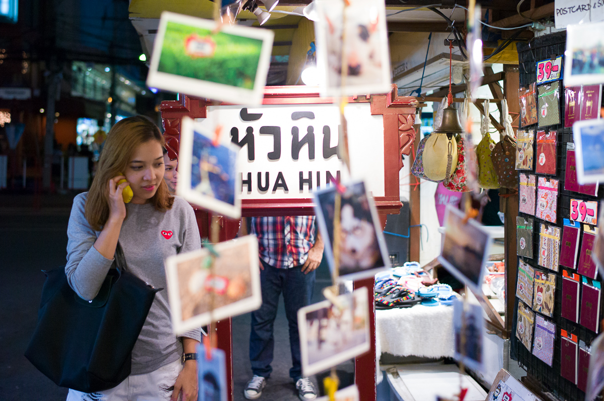 This is where the evening begins, you can find all sorts of commodity, food, clothes, etc.,Hua-Hin Night Market