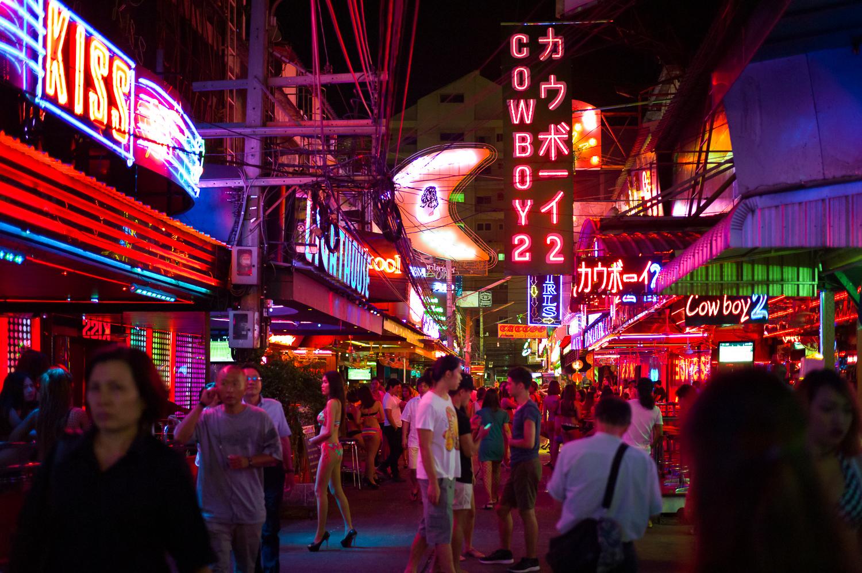Feels like another world, Soi Cowboy, Bangkok