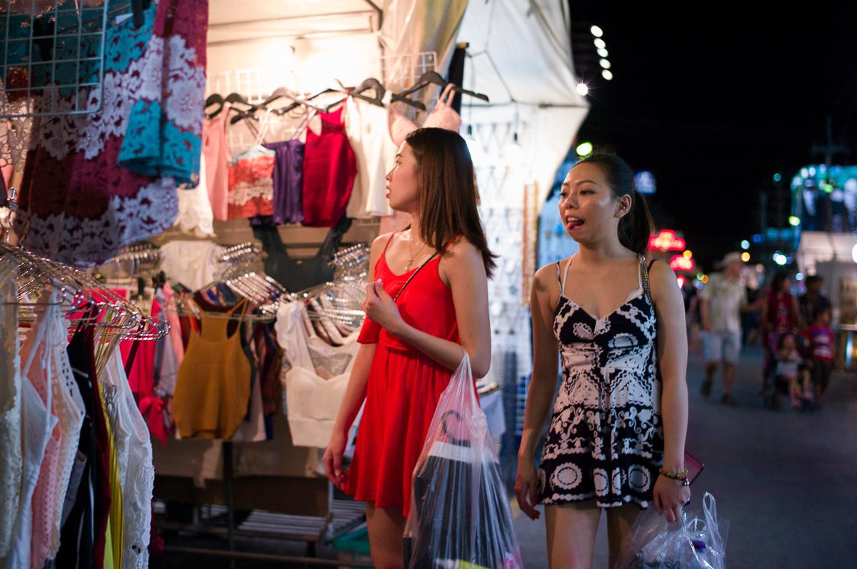 Hua-Hin Night Street Photography: Night Market