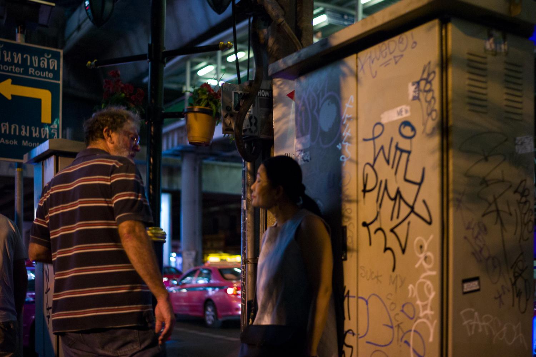 Bangkok Night Street Photography: Sukhumvit Road