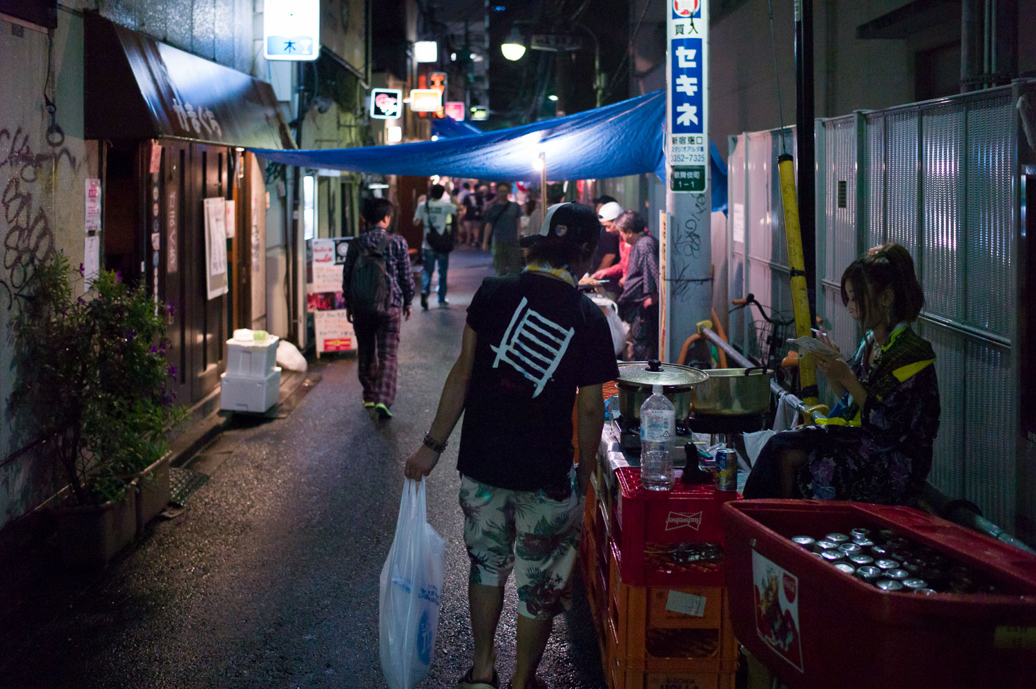 Refreshing to see Golden Gai in a festival atmosphere