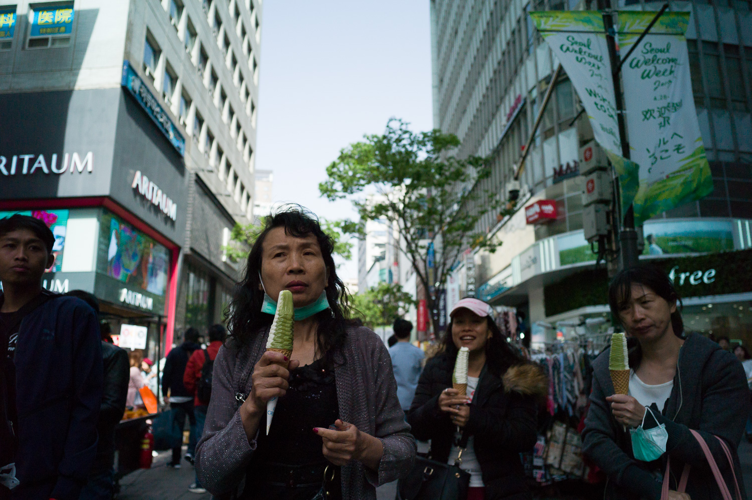 Street Photography in Myeongdong