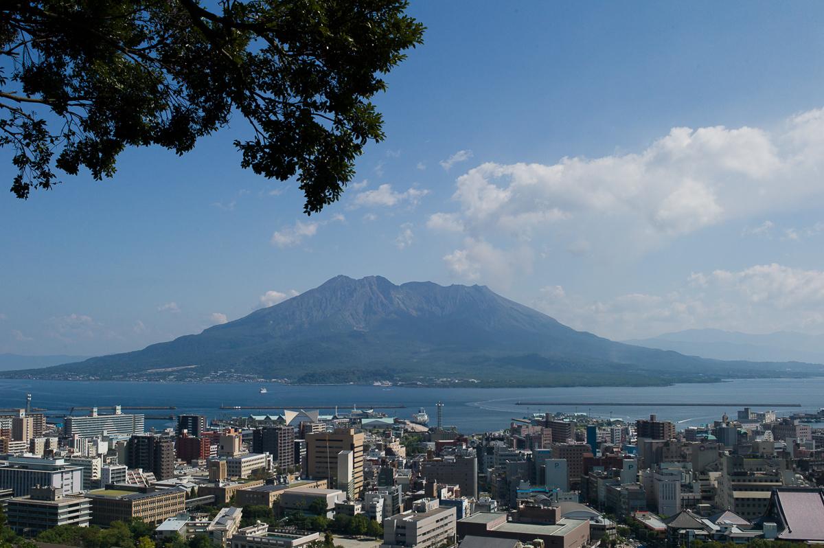 Must-visit tourist viewpoint of Sakurajima