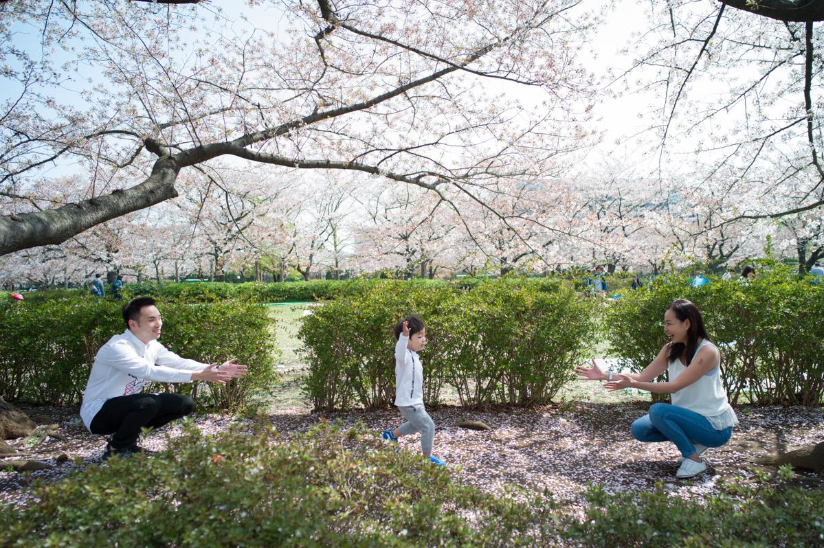 Tokyo Family Photography, Sarue Onshi Park