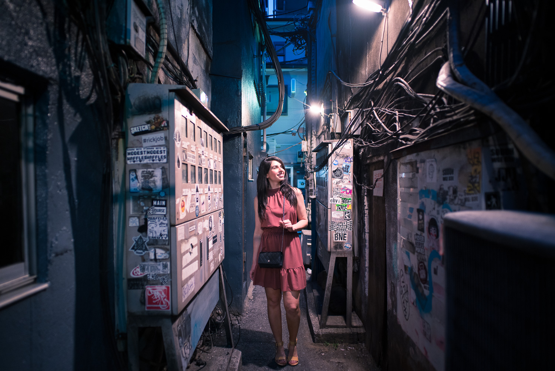 Japan Holiday Photographer in Shinjuku