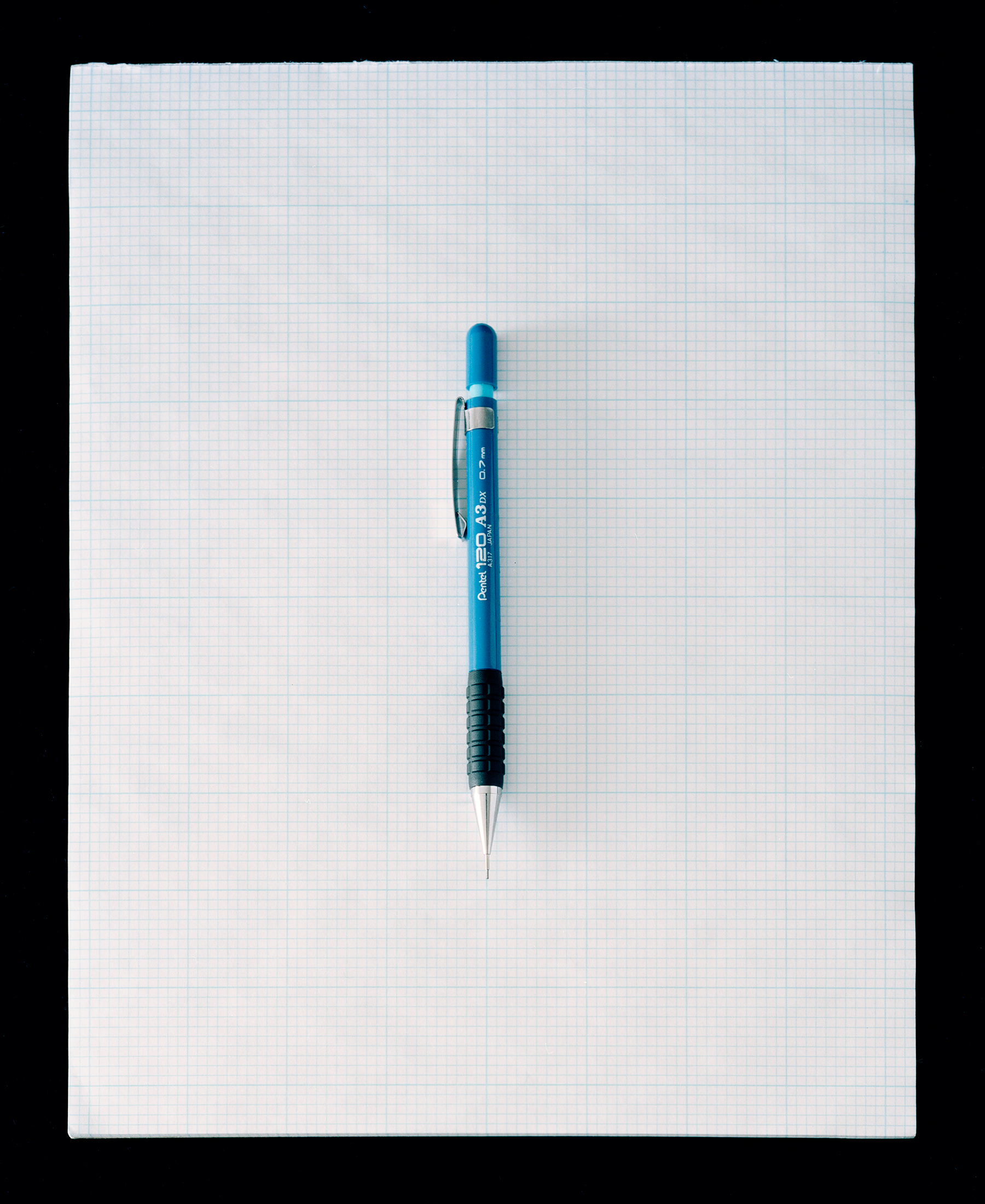 Culture Handbook No. 011 (mechanical pencil, graph paper), 2017