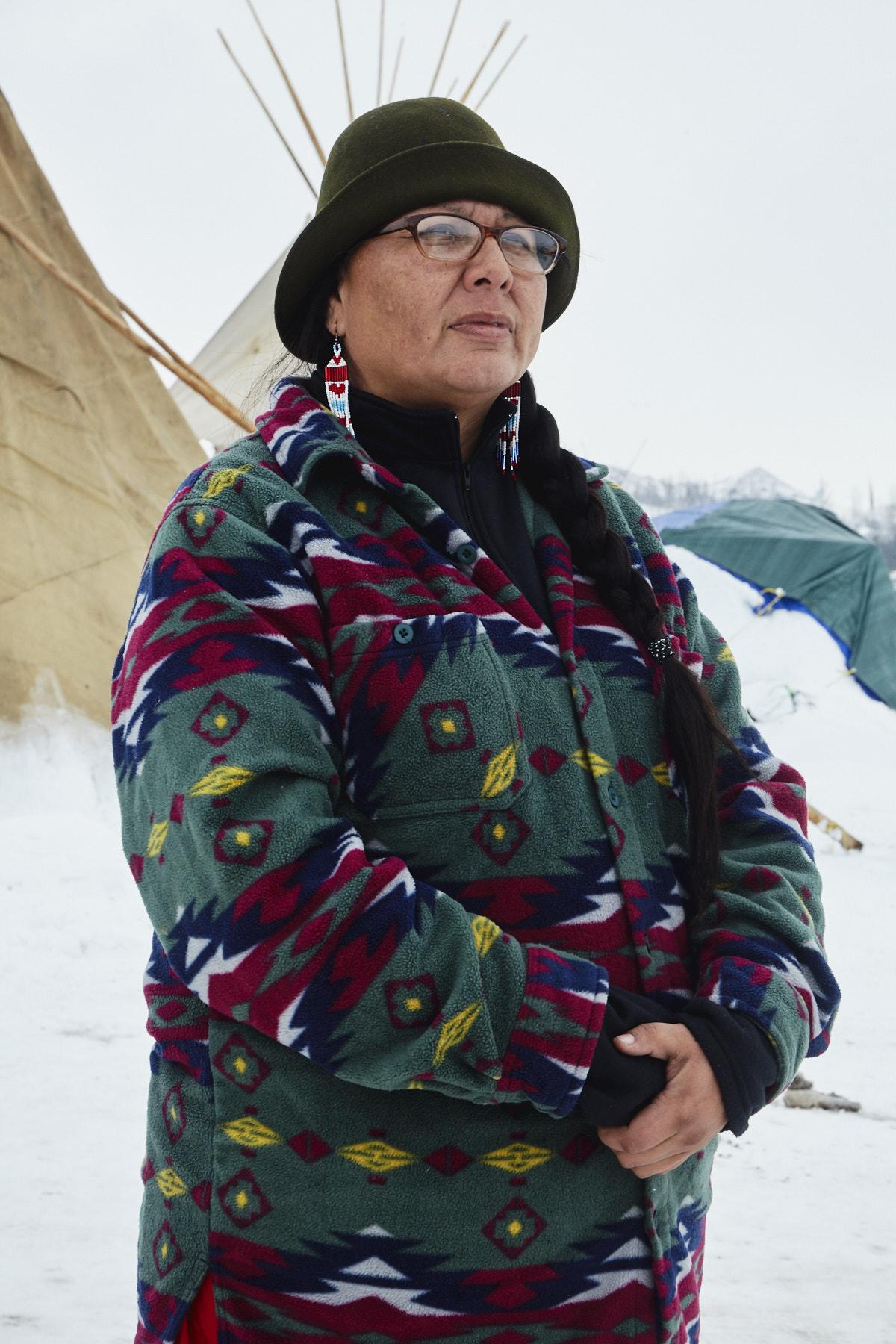 Melaine Stoneman, from the Sicangu Lakota (Burnt Thigh Nation) tribe in Pine Ridge Reservation, South Dakota