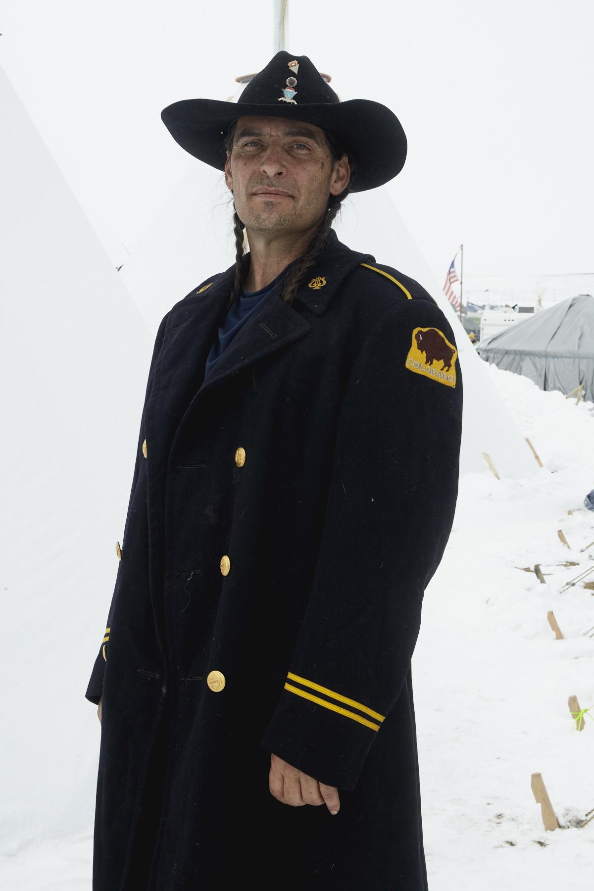 Apache Chief Thomas Langerderfer