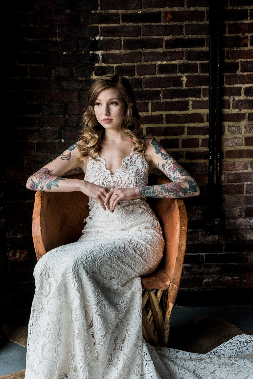 Industrial Baltimore Elopement at Wine Market | Shotgunning for Love Letters