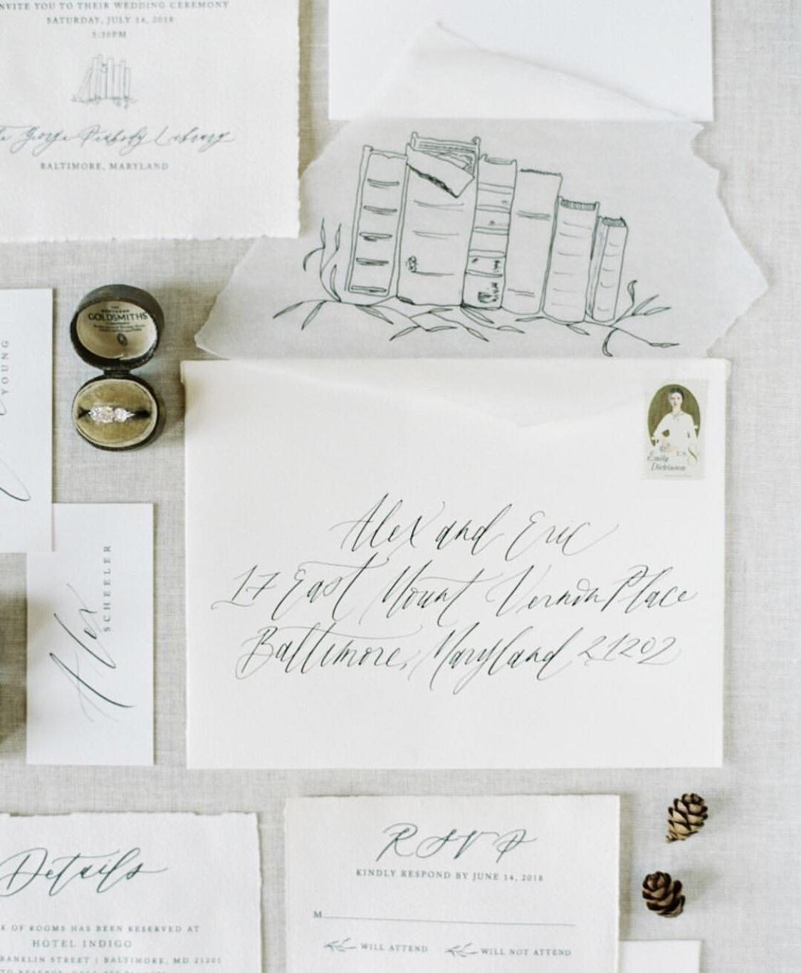 Kate Ignatowski Calligraphy