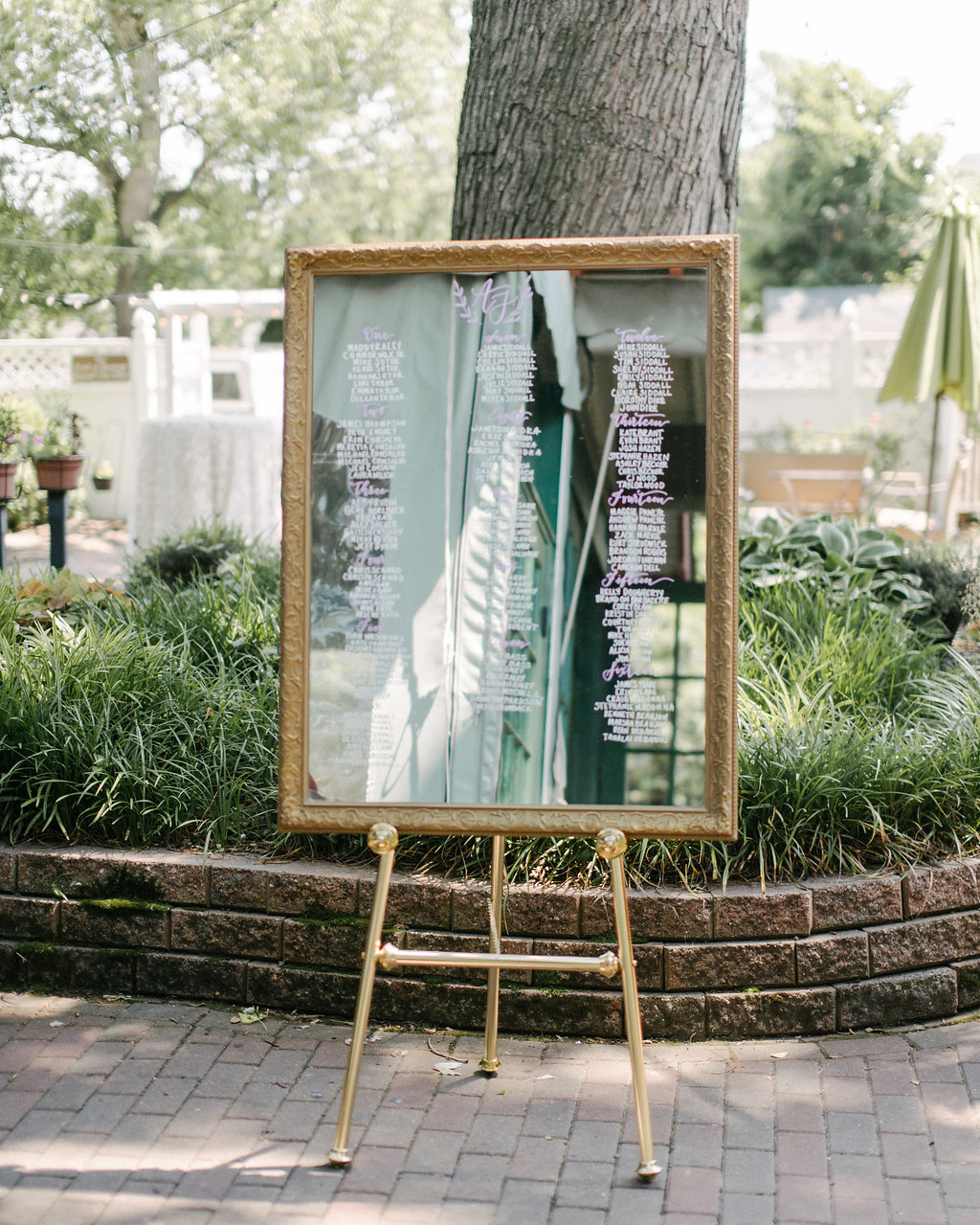 7 Unique Calligraphy Escort and Seating Chart Wedding Signs | Shotgunning for Love Letters