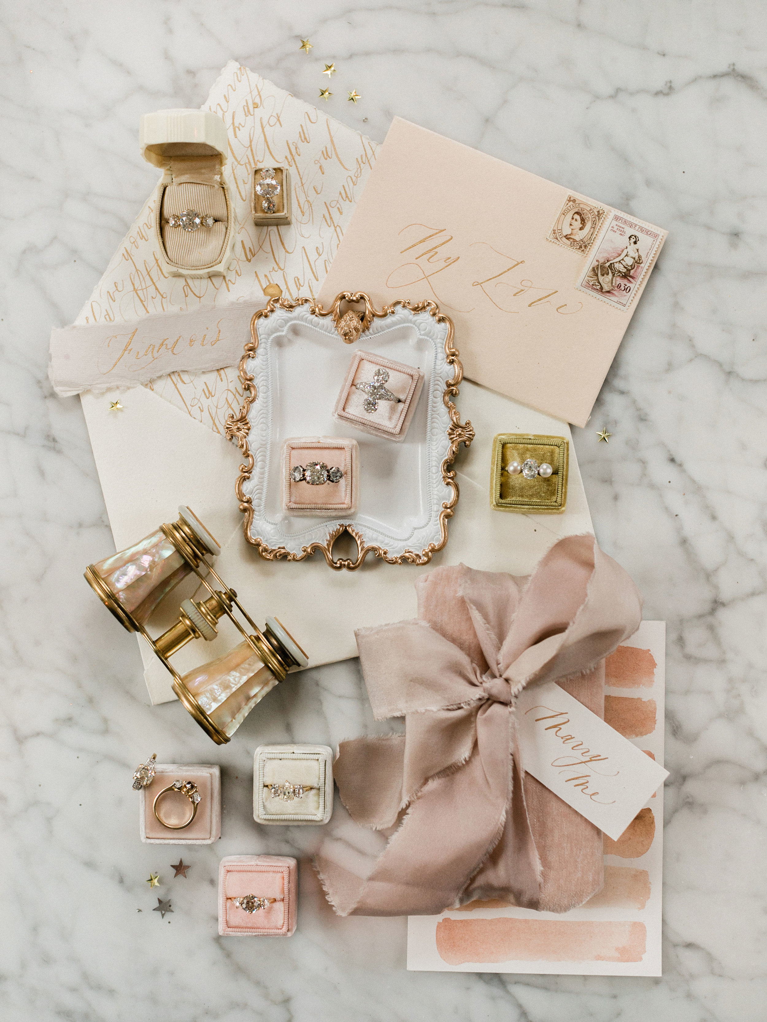 Holiday Flat Lays With East Made Event Company, Sophie Kaye Photography, and Victor Barbone | Shotgunning for Love Letters