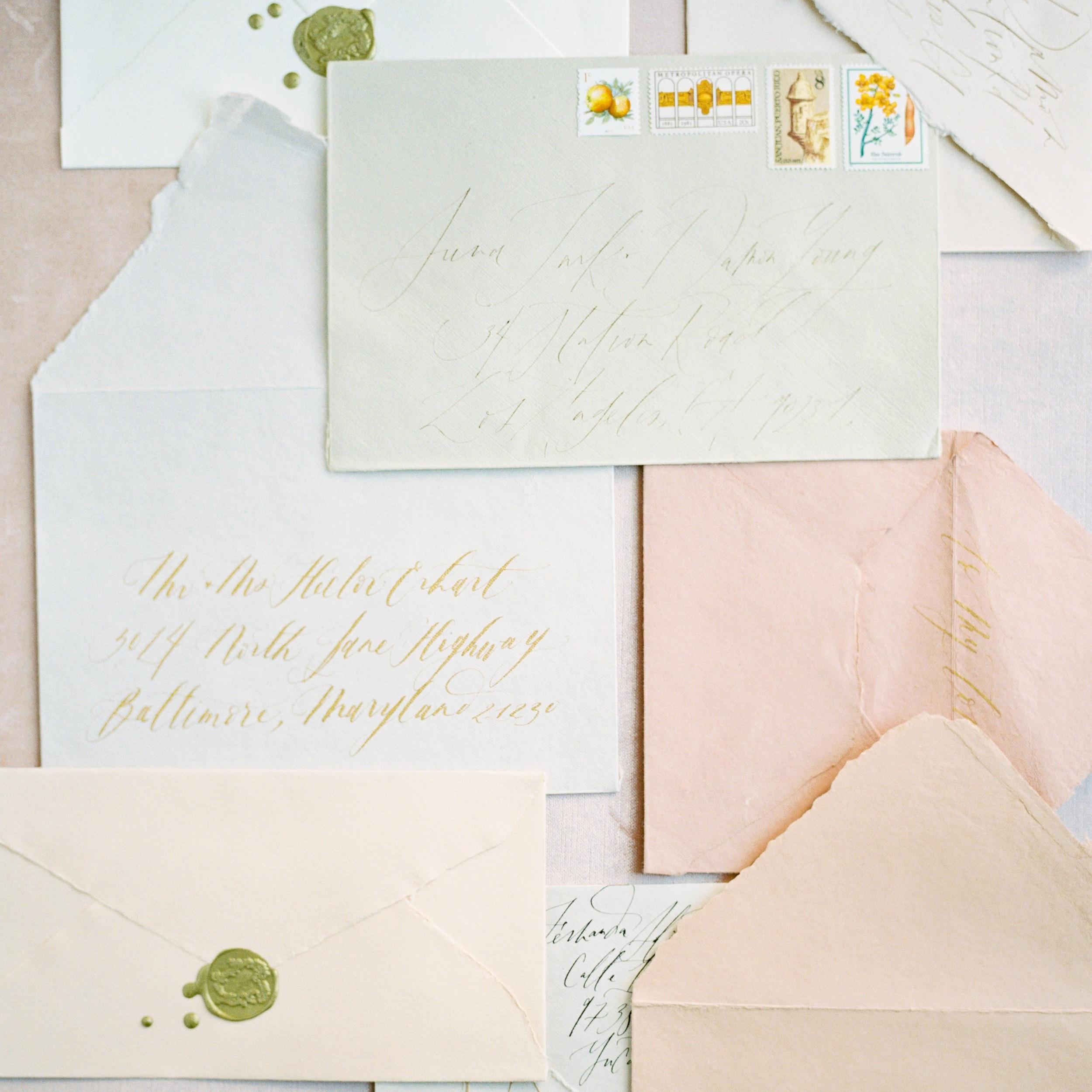 Handmade Paper Envelopes | Shotgunning for Love Letters