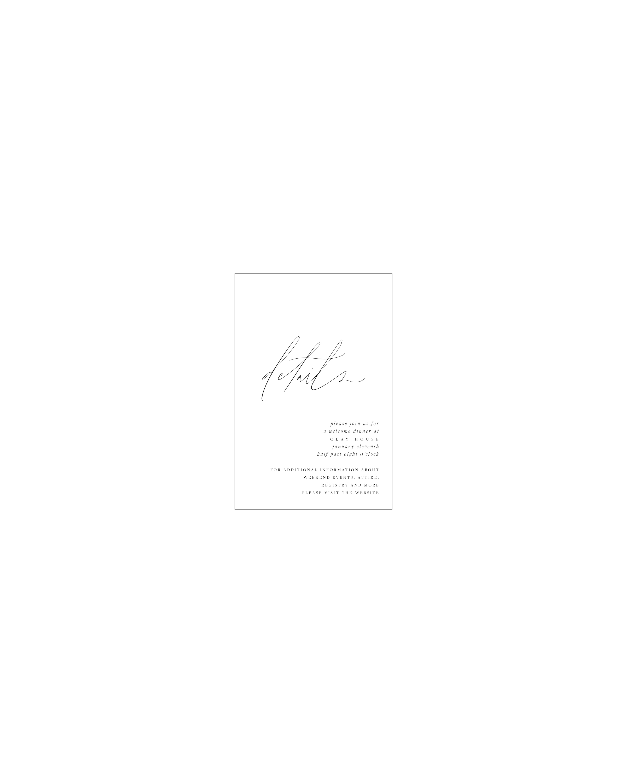 Muse Details Card | Shotgunning for Love Letters