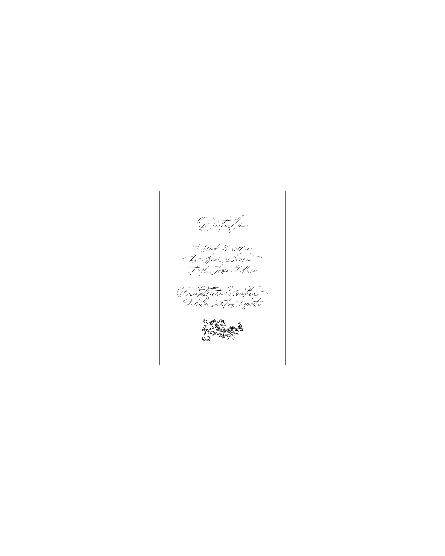 Remembrance II Details Card   Shotgunning for Love Letters