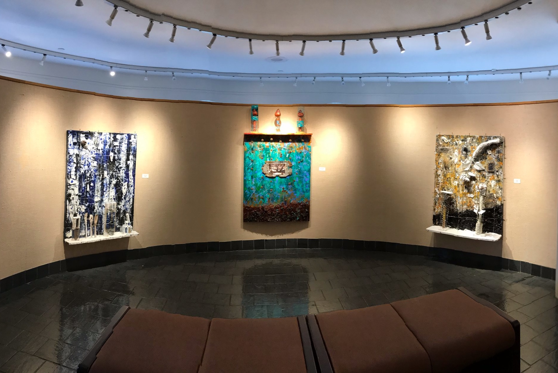 Installation shot at Western New England University, Springfield, MA