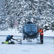 Heli ski from London