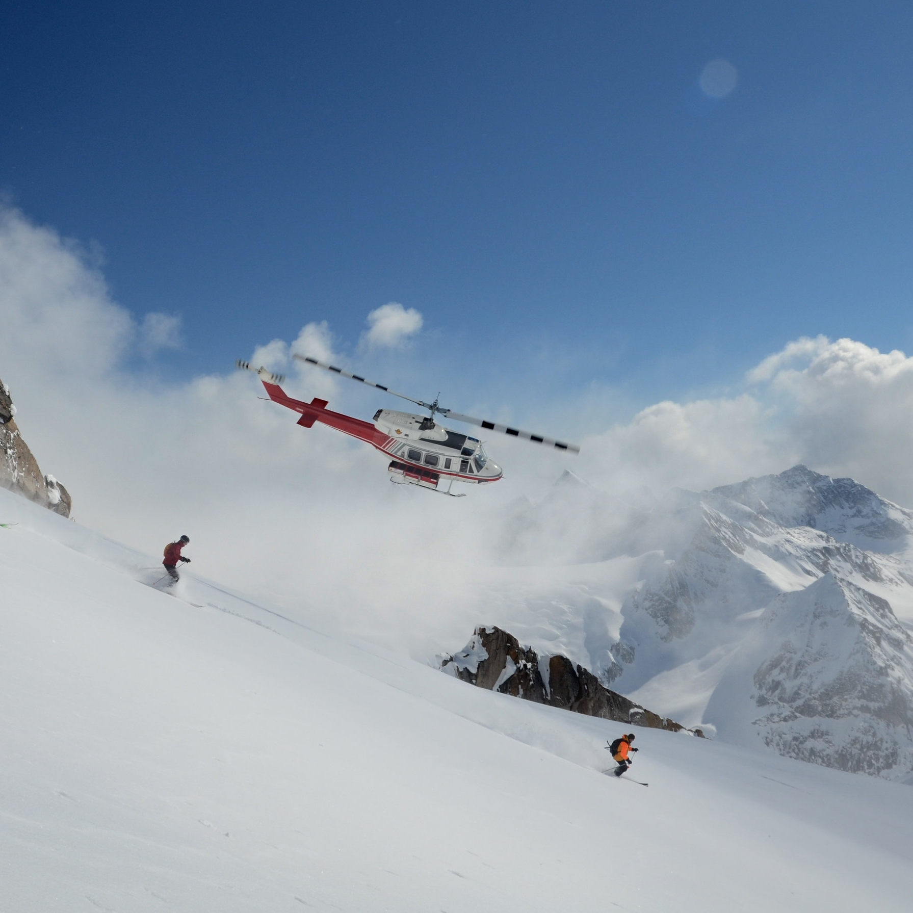 HELI SKI IN THE MOST REMOTE PART OF CANADA -