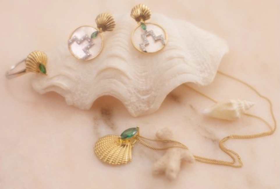 Art Deco style inspired by the Marine Building for the new collection from V Jewellery