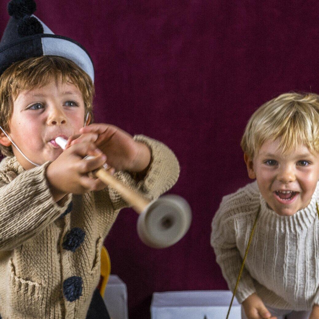 Voici les fabuleux Jules et Oscar Bouteiller, qui vont vous faire rêver.
