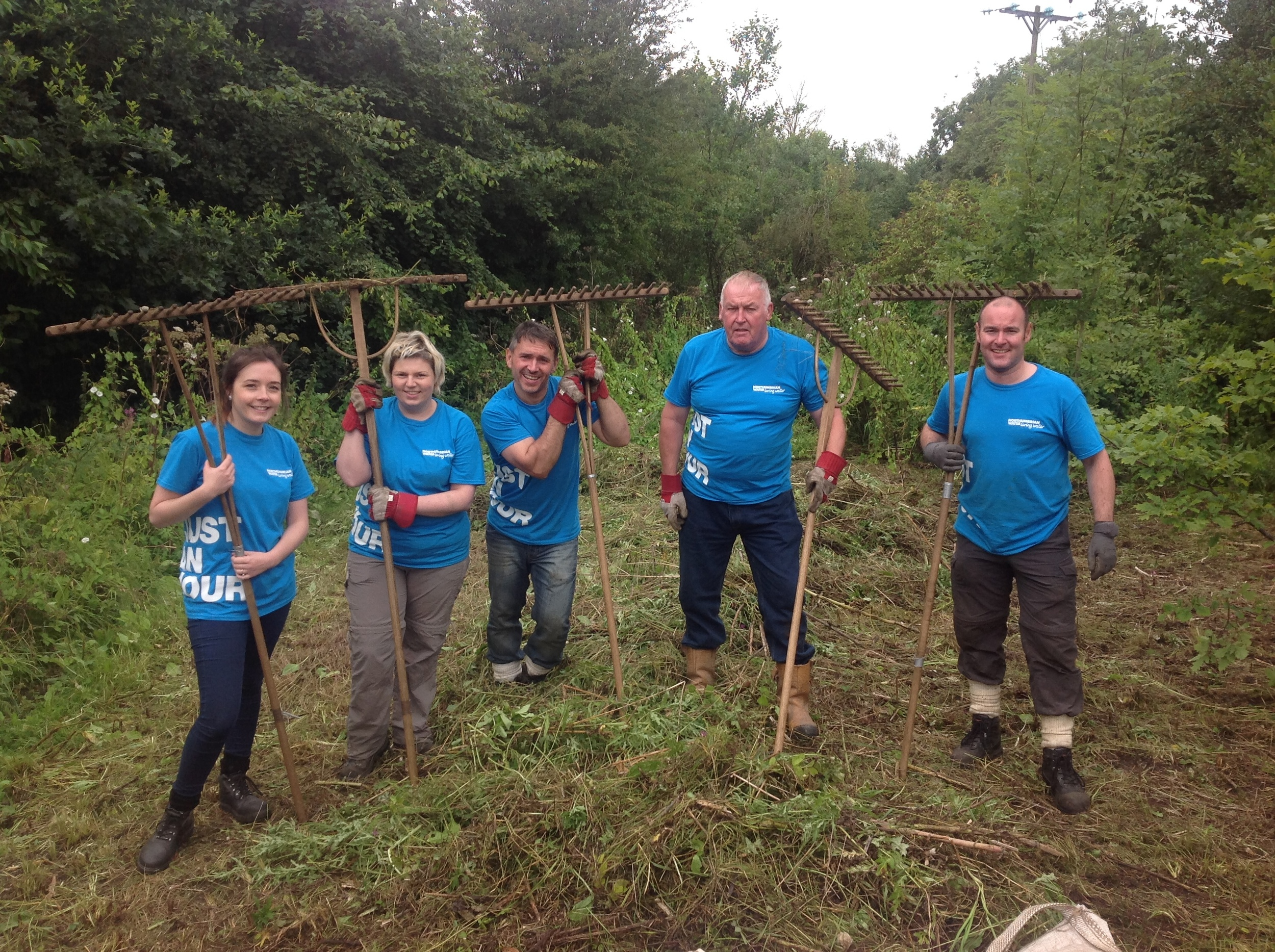 Our people regularly volunteer to help with environmental projects