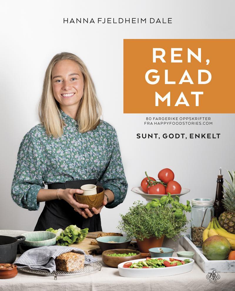 REN, GLAD MAT - Januar 2016 gav jeg ut kokeboken REN, GLAD MAT på Kagge / Stenersen forlag. Boken inneholder fargerike oppskrifter på både frokost, middag, søtt og tilbehør, som burde passe de aller fleste. Kjøp boken på nett, eller i din nærmeste bokhandel!