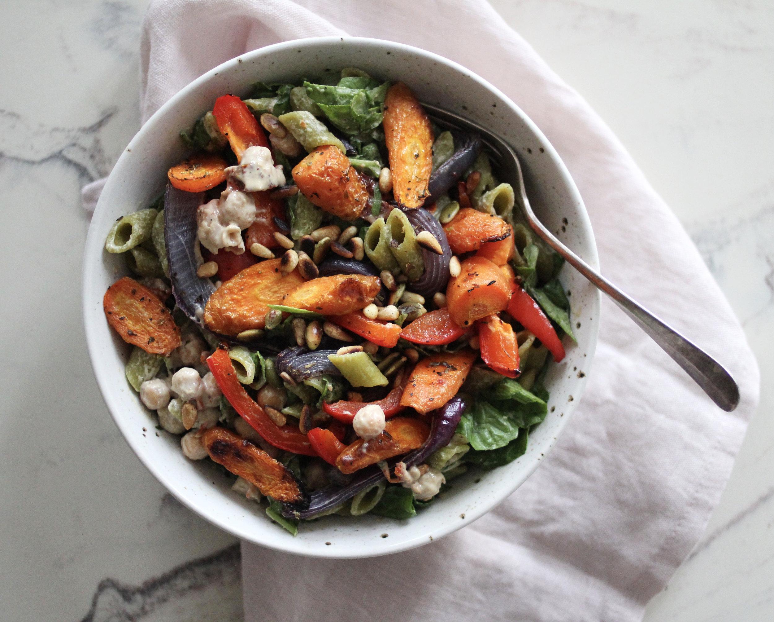 LMD-pasta-tahinisaus-grønnsaker2.jpg