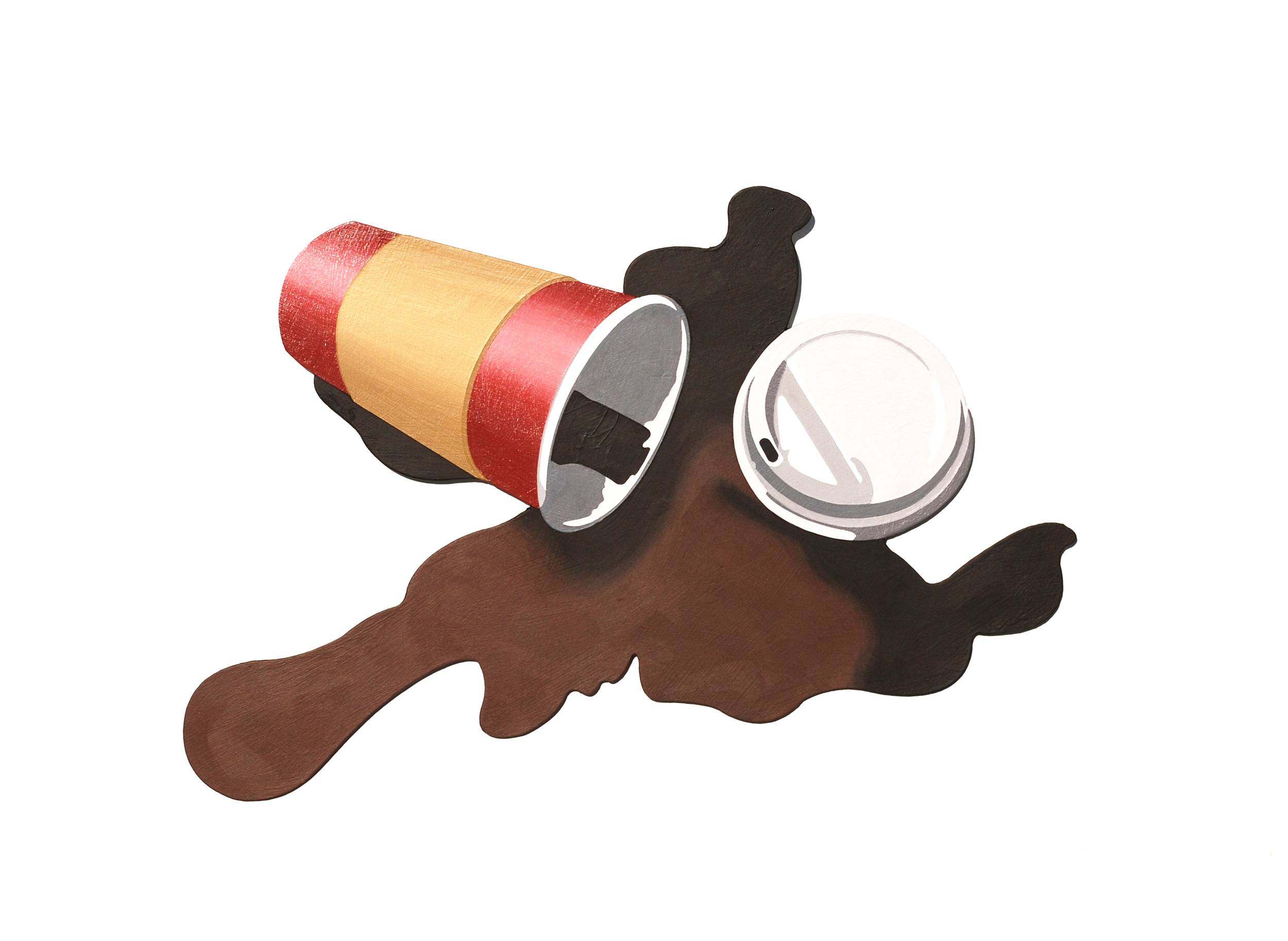 To-Go Coffee Spill (First World Problems)