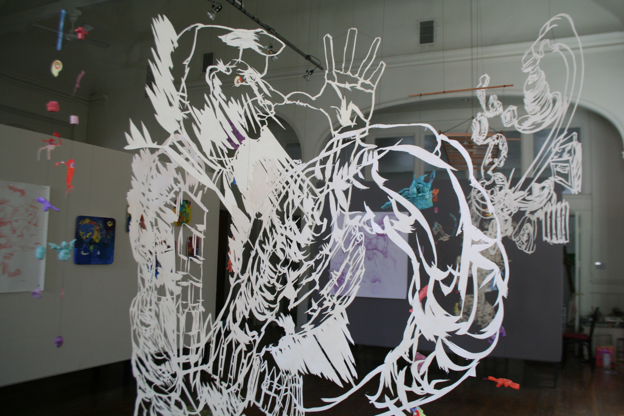 Smoke Dreams (installation view)