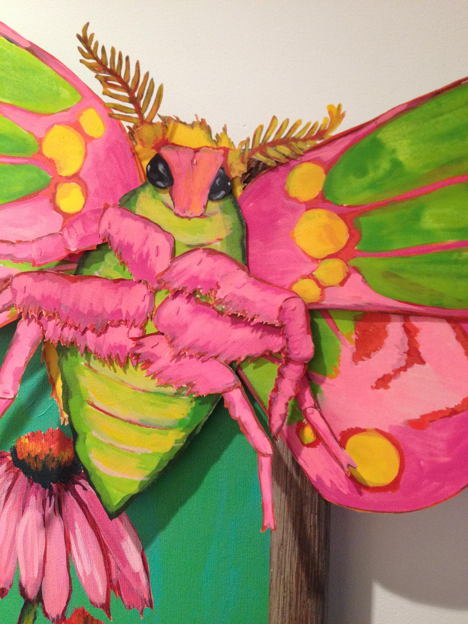 Elisabeth Gambino, Tantrum in nectar (detail)