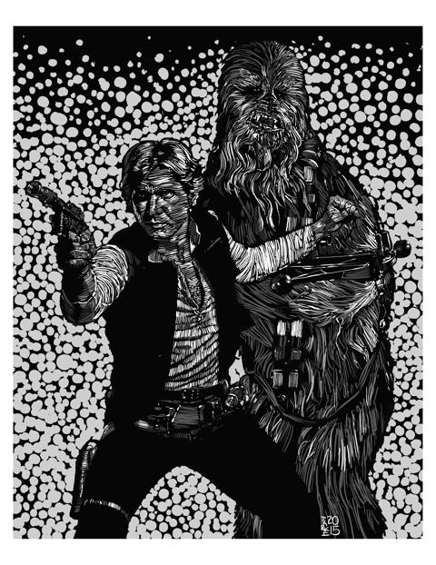 Steve Parke, Han Solo & Chewie