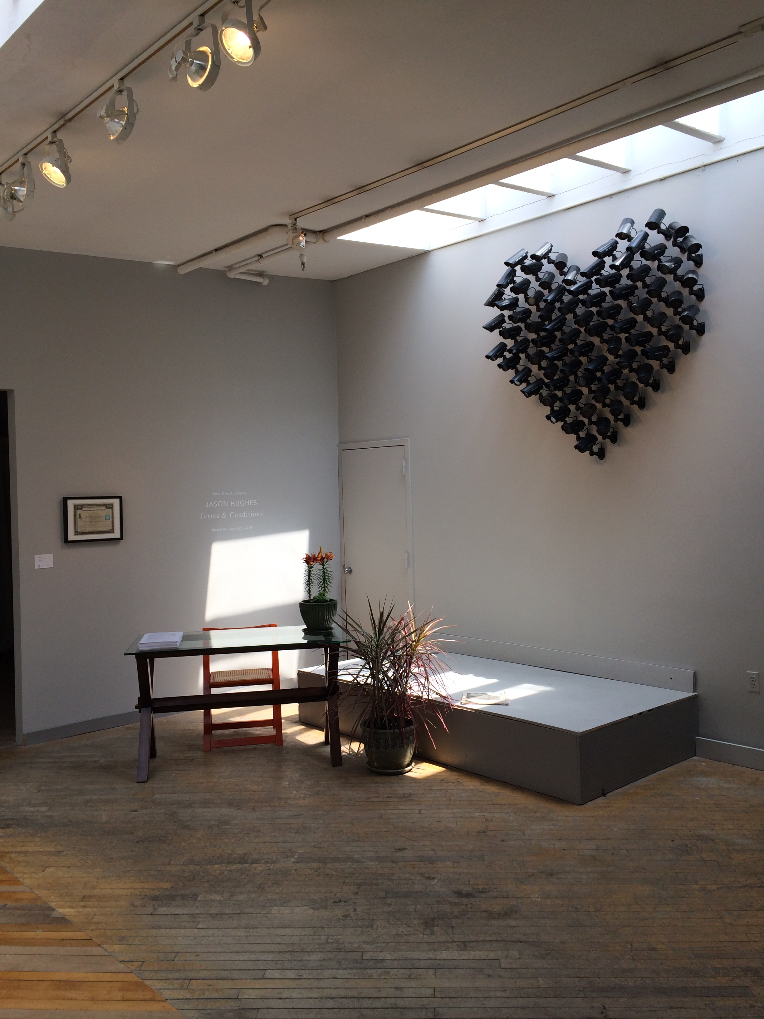 Love Thy Brother (installation view)