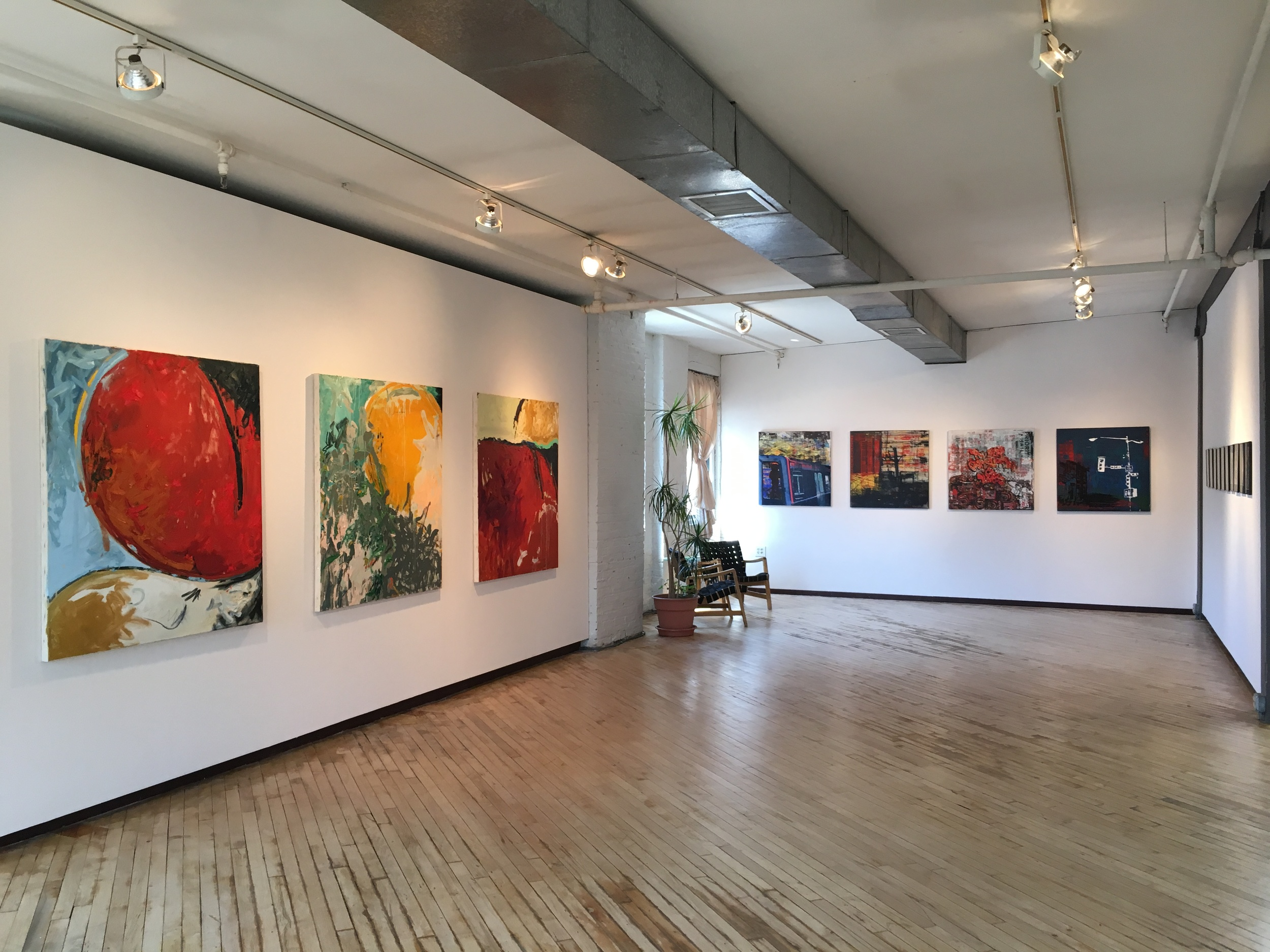 Installation View (west gallery)