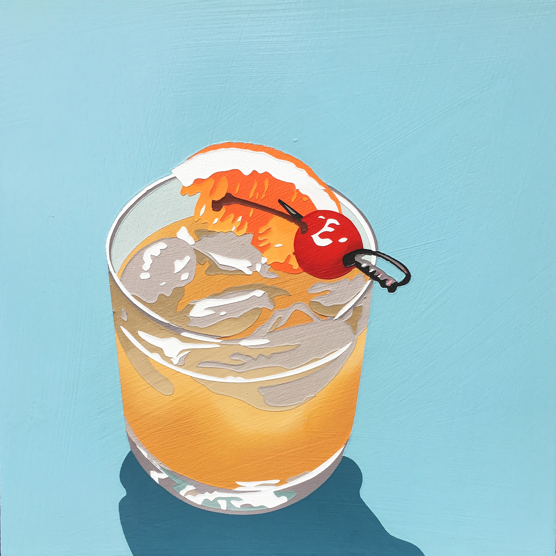Bourbon Cocktail (sidecar)