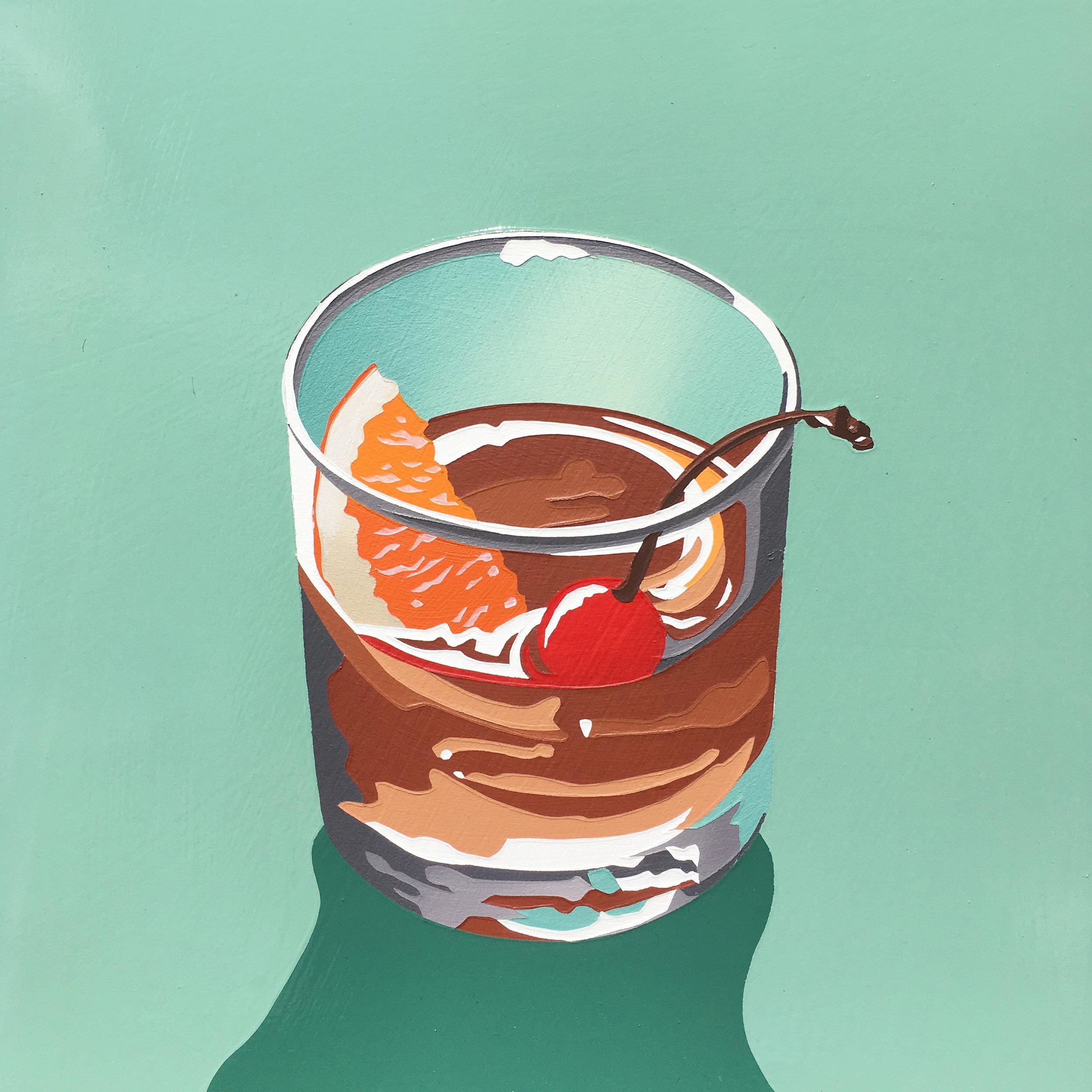 Bourbon Cocktail (manhattan 2)