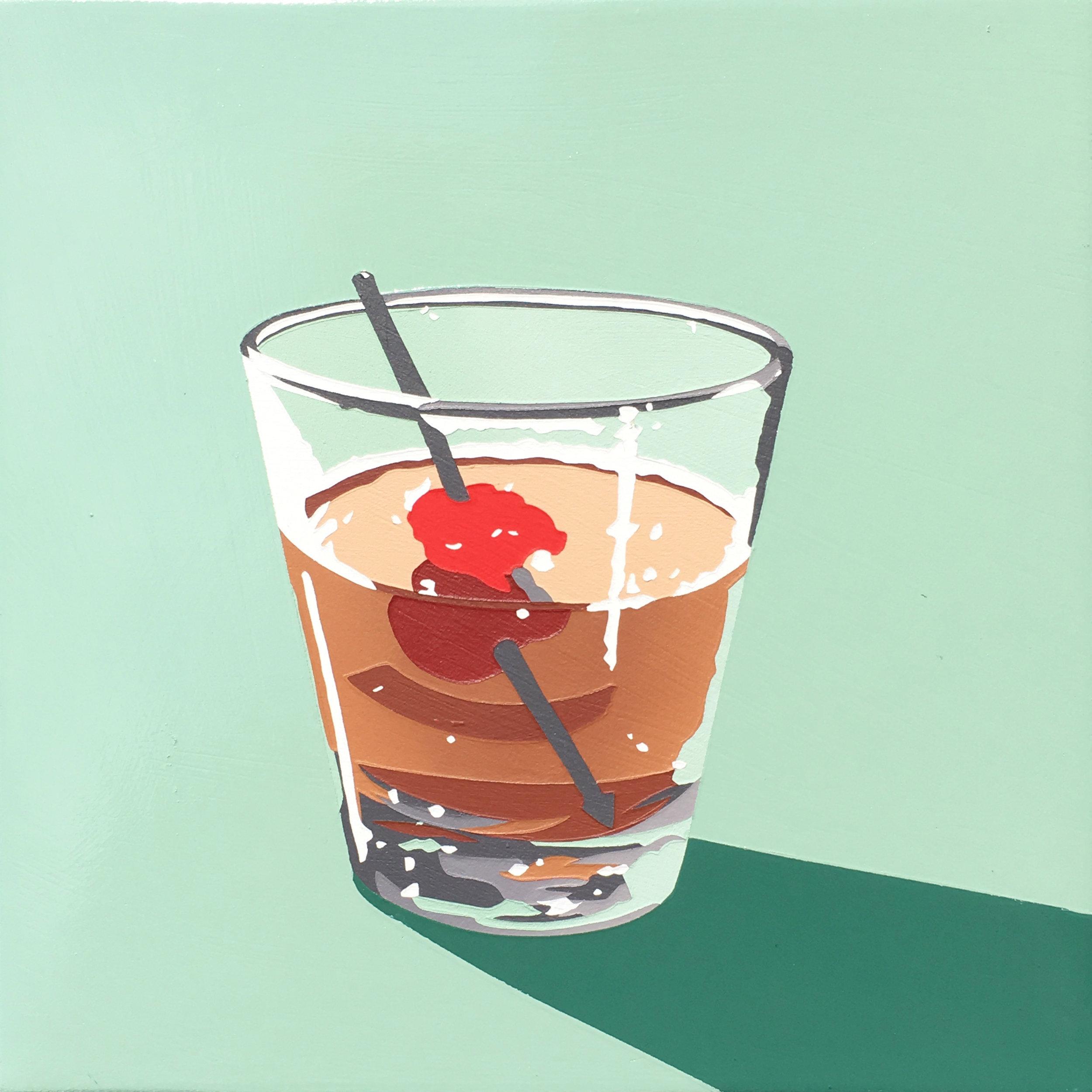 Bourbon Cocktail (manhattan 1)