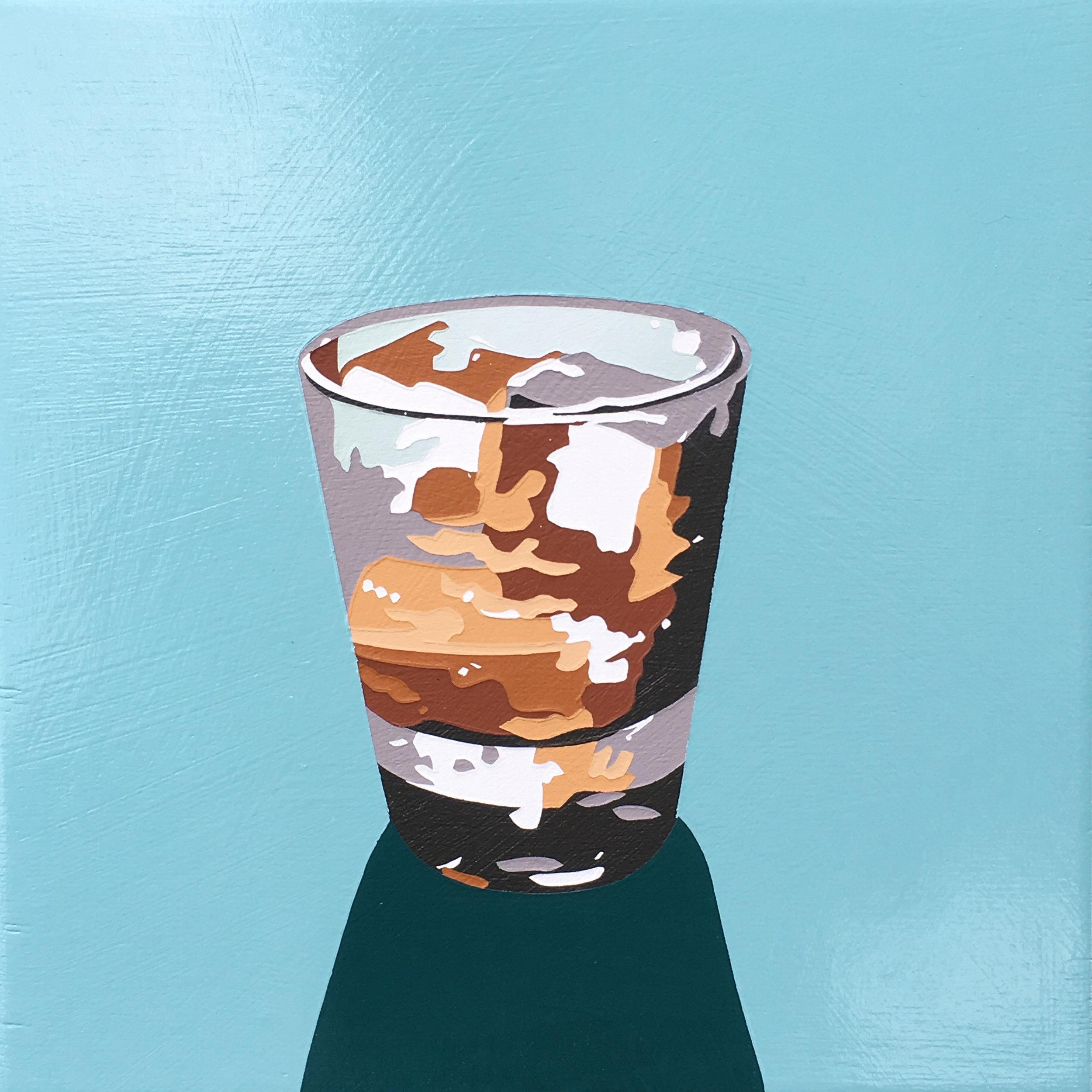 Bourbon Cocktail (on the rocks)
