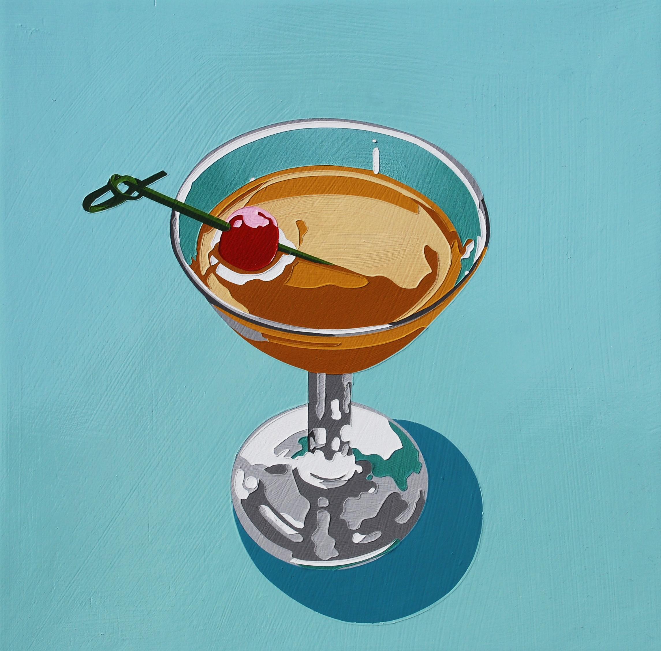 Bourbon Cocktail (boulevardier 2)